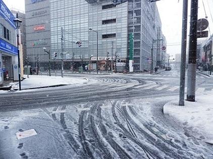 3月29日32年ぶりの積雪