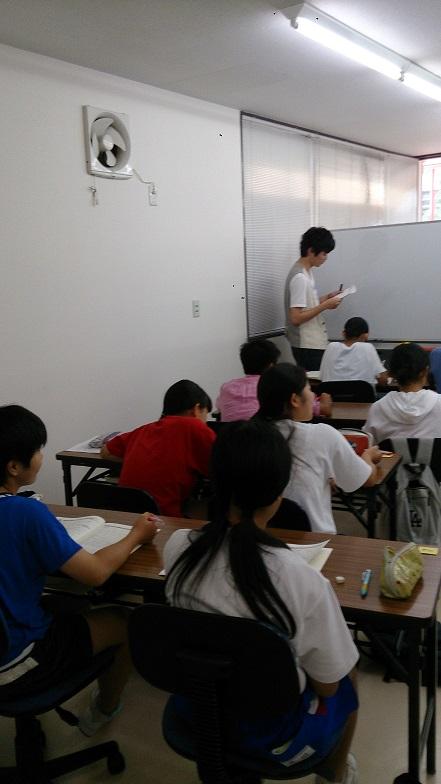 中3生 夏期講習少人数クラス講習会スタート!画像